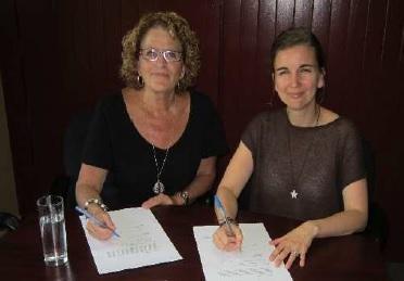 Francine_Daigle-et-Maude_Laberge-partenariat-intermunicipal-photo-courtoisie-publiee-par-INFOSuroit-com