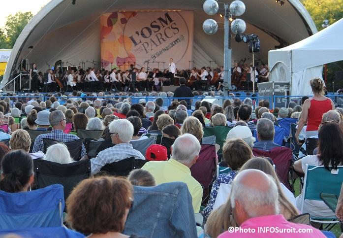 OSM a Rigaud orchestre symphonique de Mtl au parc Chartier-DeLotbiniere Photo INFOSuroit_com
