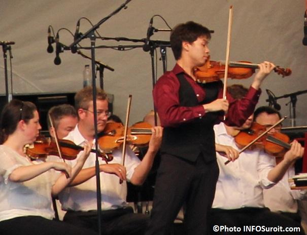 OSM a Rigaud violoniste Timothy_Chooi et musiciens Photo INFOSuroit