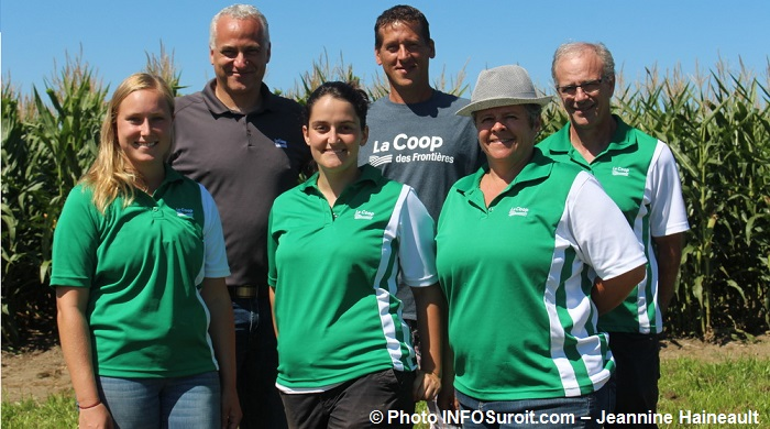 CoopdesFrontieres journee champetre 2016 le comite organisateur Photo INFOSuroit-Jeannine_Haineault