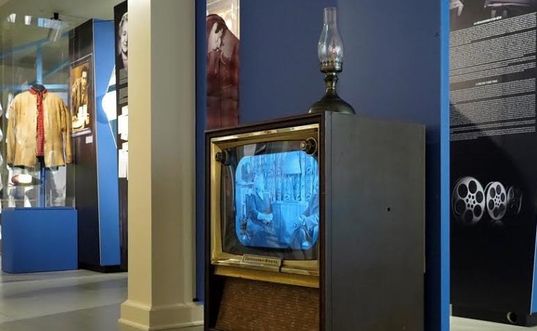 Exposition de G_Guevremont et le Survenant Photo Bernard Bourbonnais courtoisie MRVS