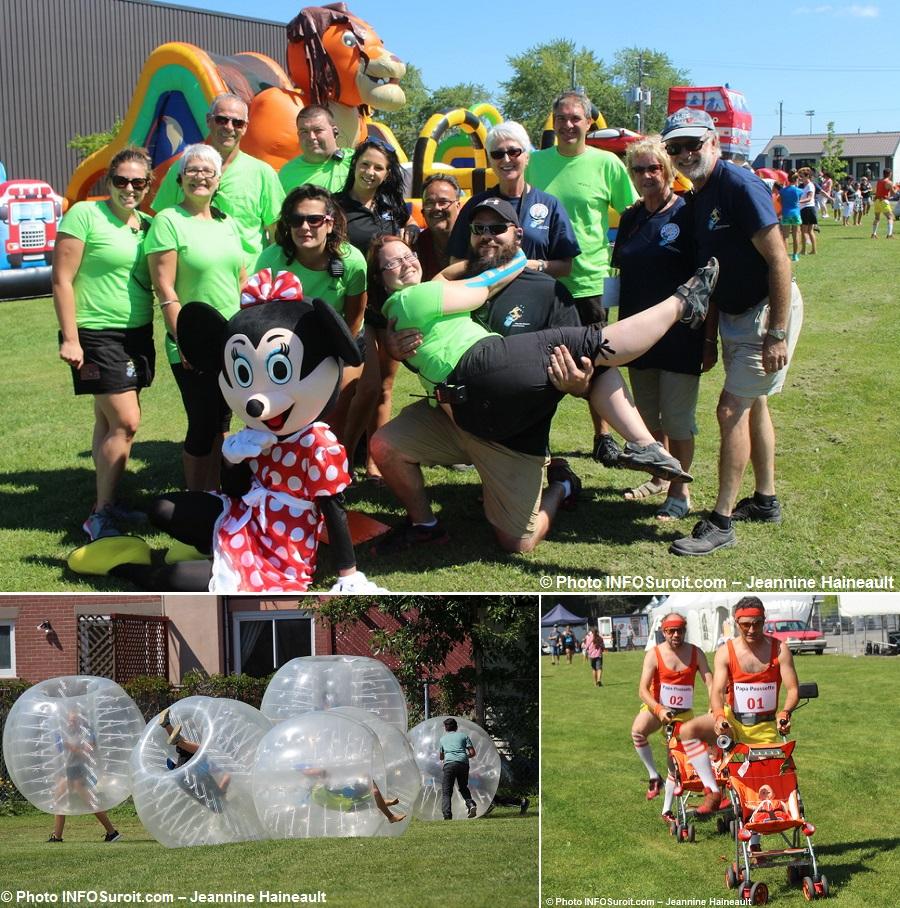 FetedesCitoyens organisateurs benevoles mascotte bubble soccer et plus Photos INFOSuroit-Jeannine_Haineault
