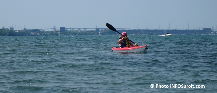 Kayak Beauharnois Salaberry excursion Iles de la Paix photo INFOSuroit