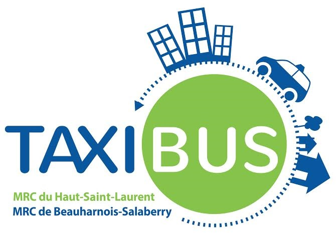 Logo Taxibus MRC du Haut_Saint_Laurent et Beauharnois_Salaberry logo courtoisie