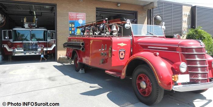 Sainte-Martine camions pompiers fete des moissons Photo INFOSuroit