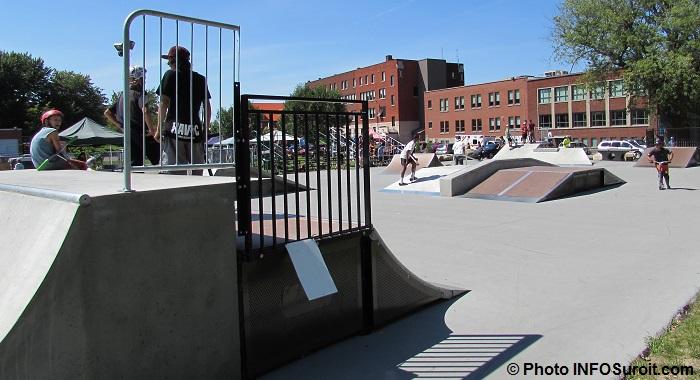 SkatePark a Beauharnois avec riders scooters et BMX Photo INFOSuroit_com