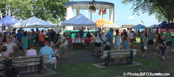 fete gourmande a Beauharnois kiosques visiteurs et ambiance generale Photo INFOSuroit_com