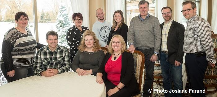 Congres Holstein Quebec 2017 Membres comite organisateur Photo JosianeFarand courtoisie DesjardinsVS