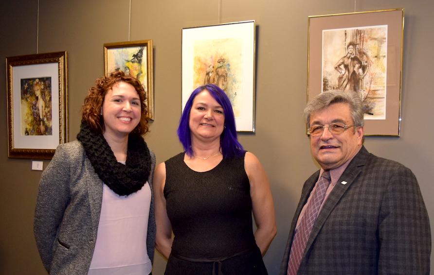 GStPierre artiste PatriciaDegre et GMenard Photo courtoisie MRC