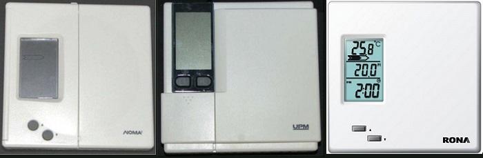 Rappels Thermostats Noma UPM et Rona image via SanteCanada