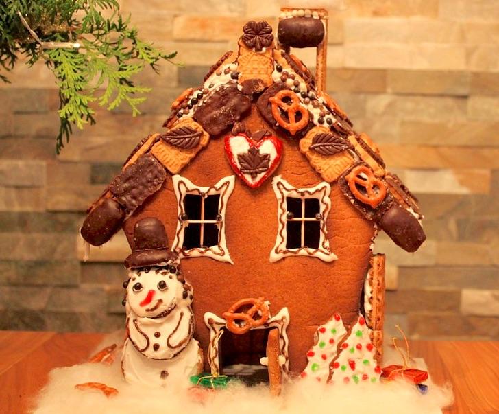 bretzel chocolat bonhomme de neige Photo Cocoparisienne via Pixabay