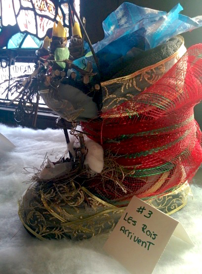 concours souliers de Noel 3e prix Renaud et GuillaumeLefebvre Photo courtoisie MUSO