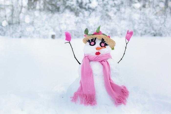 hiver bonhomme de neige bonnefemme de neige Photo Jill111 via Pixabay