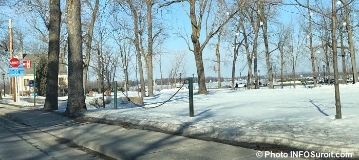 hiver neige parc Valois Vaudreuil-Dorion Photo INFOSuroit
