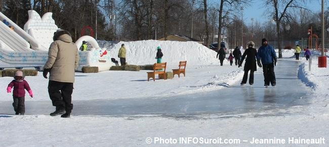 Festival Glisse et Reglisse a Rigaud patin jeux gonflables Photo INFOSuroit-Jeannine_Haineault