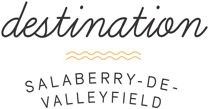 Logo Destination Valleyfield_contour blanc