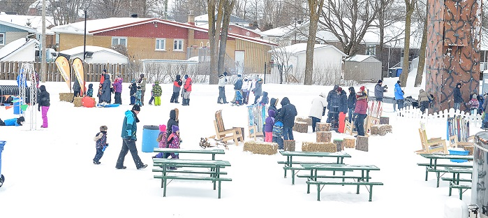 festival Glisse_reglisse Rigaud hiver jeux escalade Photo courtoisie