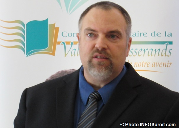 Marc Brichau directeur CFP Pte-du-Lac Valleyfield et CFP des Moissons Beauharnois Photo INFOSuroit