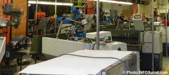 mecanique industrielle formation au CFP_Pointe-du-Lac Valleyfield Photo INFOSuroit