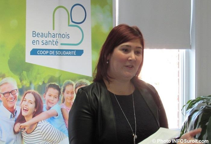 AnneBouthillier presidente Coop Beauharnois en sante Photo INFOSuroit