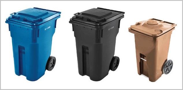 Bien-aimé Collecte des ordures : Valleyfield distribuera des bacs roulants  LU18
