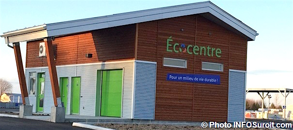 Ecocentre Valleyfield batiment principal accueil Photo INFOSuroit_com