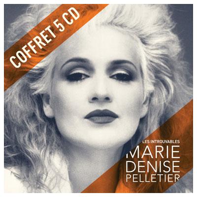 Les introuvables de Marie-Denise_Pelletier Coffret 5 CD pochette