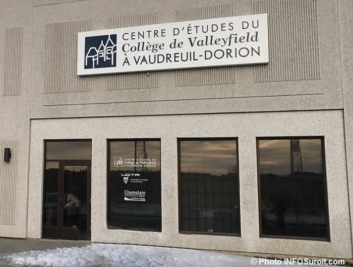 centre etudes college Valleyfield Vaudreuil-Dorion Photo INFOSuroit