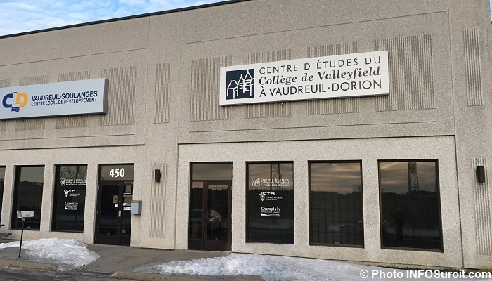 centre etudes college Valleyfield Vaudreuil-Dorion et CLD Photo INFOSuroit