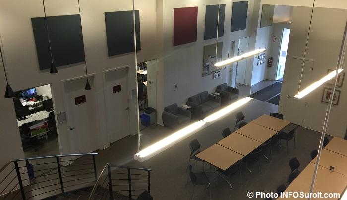 centre etudes du College Valleyfield a Vaudreuil-Dorion entree salle classe cours Photo INFOSuroit