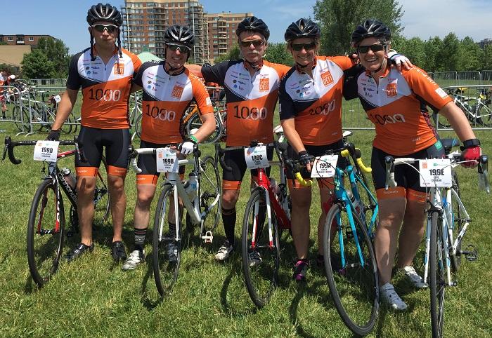 cyclistes equipe Vie_en_forme DefiPierreLavoie Photo courtoisie