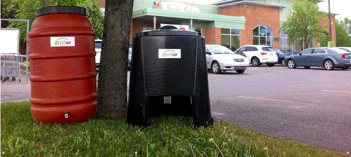 jour_de_la_terre quebec 2016 baril recuperateur_eau_pluie et composteur Fonds Eco IGA