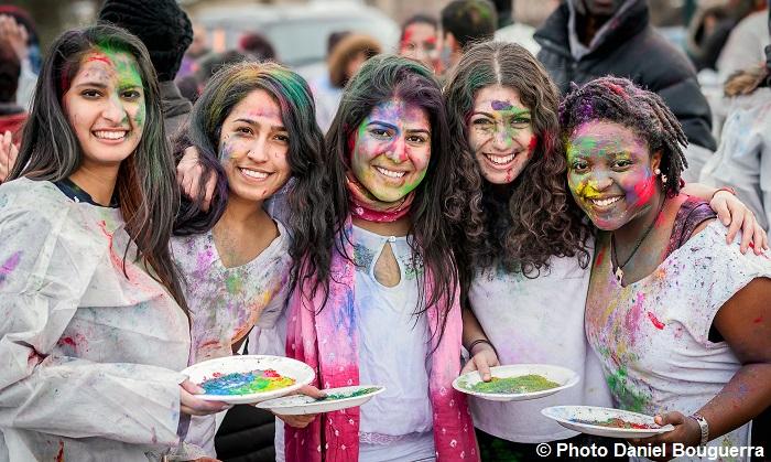 participantes fete des couleurs HoliHai 2016 Vaudreuil-Dorion Photo Daniel_Bouguerra via OICM