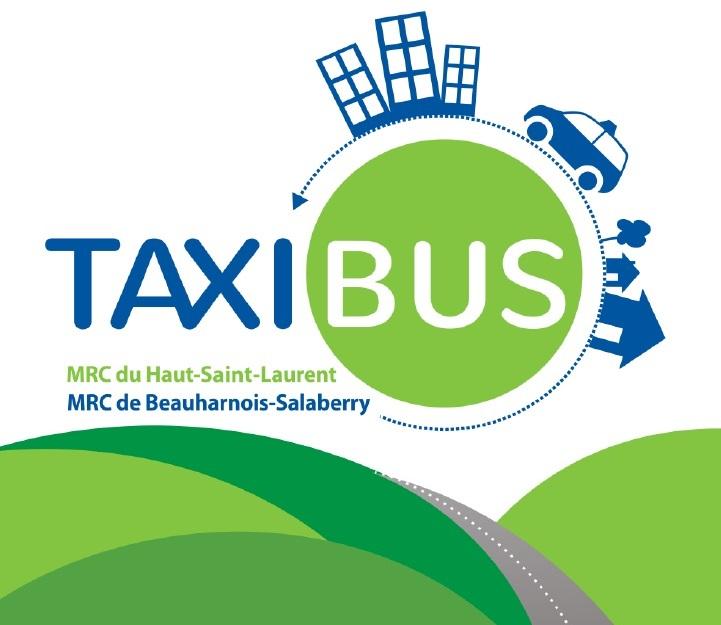 taxibus zones rurales des MRC BhS et HSL Visuel 2017 courtoisie MRCBhS
