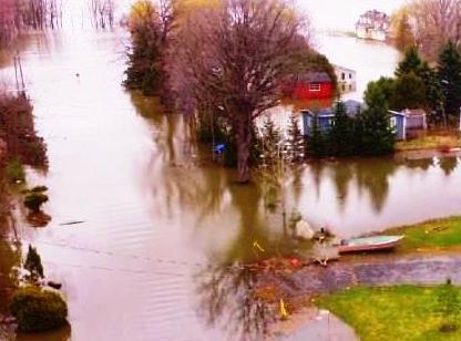 inondation debordement riviere avril 2017 Photo courtoisie Ville Rigaud