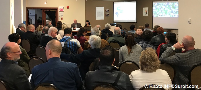 salle comble assemblee generale du CLD Haut-Saint-Laurent avril 2017 Photo INFOSuroit