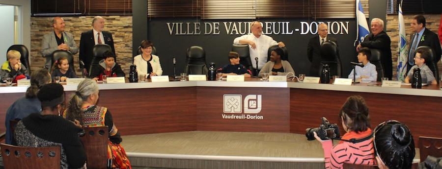 1mai2017 conseildunjour avec jeunes a Vaudreuuil-Dorion Photo courtoisie VD