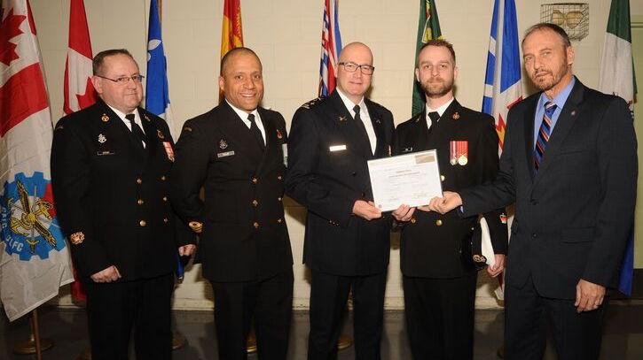 Certificat_reconnaissance 2017 Police de Chateauguay Photo courtoisie Ville Chateauguay