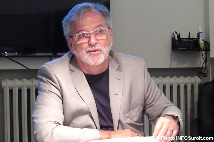 Claude_Haineault maire de Beauharnois 31 mai 2017 Photo INFOSuroit