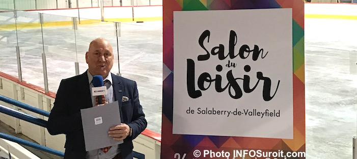 Pierre_Crepeau presentation Salon Loisir 9mai2017 Photo INFOSuroit