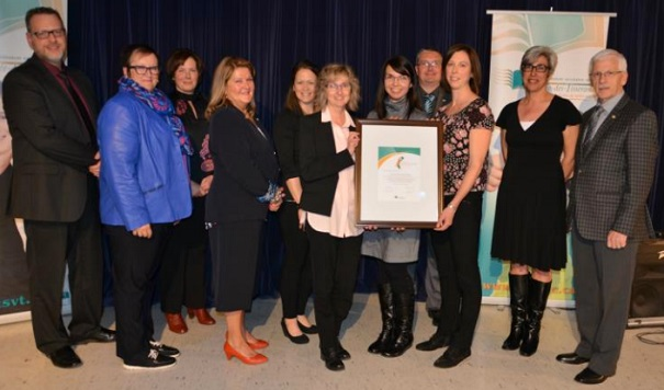 Prix excellence CSVT 2017 ecole SacreCoeur SteMartine Photo IsabelleRemillard