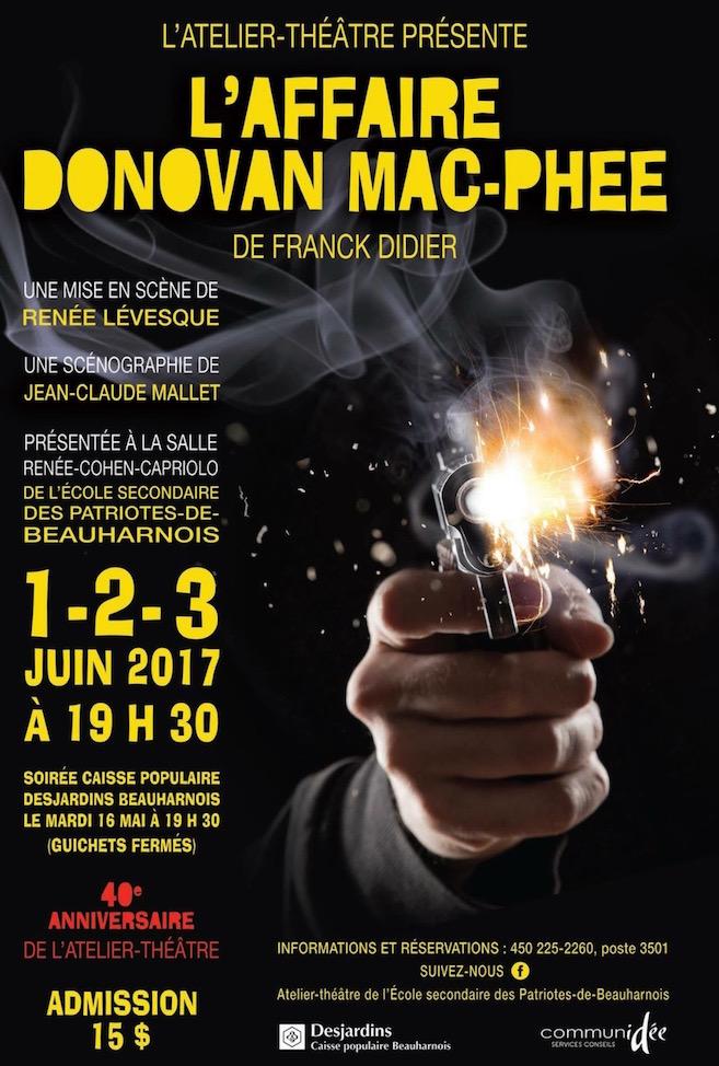 affiche 2017 atelier theatre ecole des patriotes beauharnois