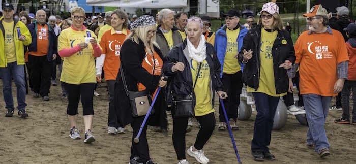 cancer Relais pour la vie 2017 Vaudreuil-Soulanges survivants photo PierreStPierre via SCC