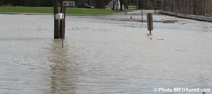 debordement riviere inondation Rigaud 2mai2017 Photo INFOSuroit