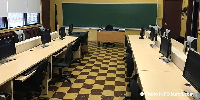 informatique salle cours adultes service aux entreprises CSVT Valleyfield Photo INFOSuroit