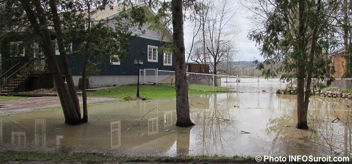 inondations Rigaud debordement riviere des Outaouais Photo INFOSuroit