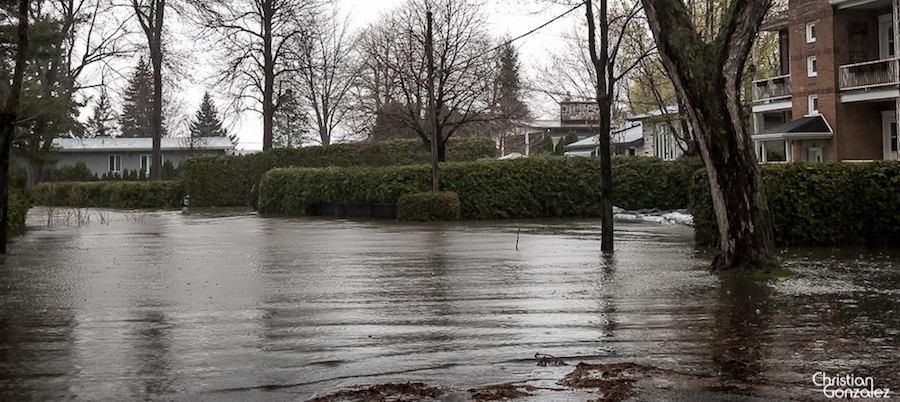 inondations rue Hotel-de-ville Vaudreuil_Dorion mai 2017 Photo ChristianGonzalez