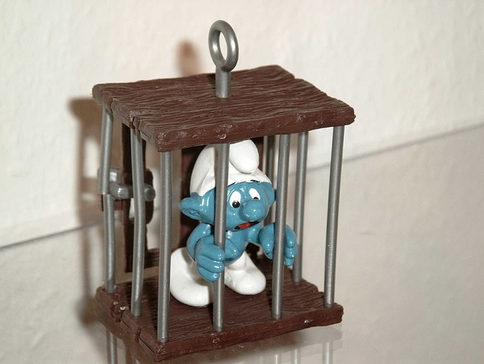 prison prisaupiege Schtroumpf Photo MartaPoseMuckel via Pixabay