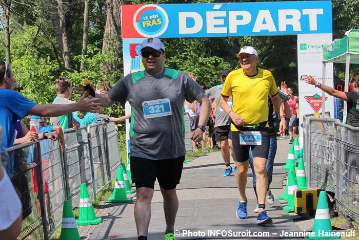 Defi FRAS 2017 arrivee depart coureurs Photo INFOSuroit-Jeannine_Haineault