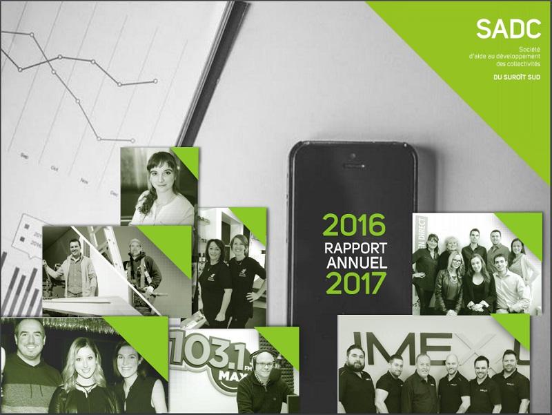 SADC Suroit-Sud rapport annuel 2016-2017 couverture